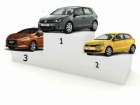 Самые популярные автомобили в Европе и России