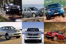 Тест Volkswagen Amarok vs пикапы Ford, Isuzu, Toyota, Nissan, Mitsubishi