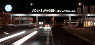Volkswagen вложит 500 млн евро в завод в Словакии