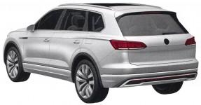 Новое поколение Volkswagen Touareg: первое фото без камуфляжа