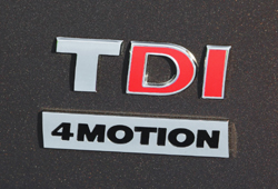 VW TDI 4motion